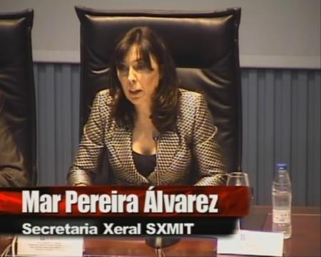 Mar Pereira Álvarez, Secretaria Xeral de Modernización e Innovación Tecnolóxica – Presidencia da Xunta de Galicia - Seminario de boas prácticas na contratación TIC
